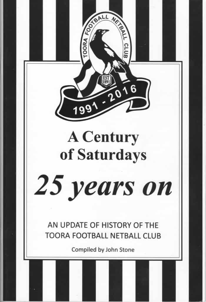 Toora Football 25 years on